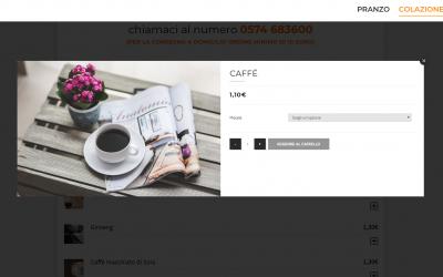 Abbiamo implementato la nostra piattaforma di ordini online